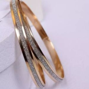 Jewelry - Metal flash bangles.